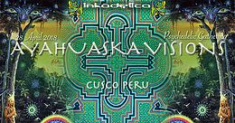 """Party Flyer """"Ayahuaska Visions"""" Psychedelic Gathering 28 Apr '18, 15:00"""