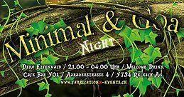 Party Flyer Fabrication X Minimal & Goa 28 Apr '18, 21:00