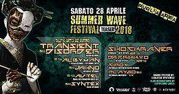 Party Flyer Summer Wave Festival 2018 Teaser ☆ Shockraver ☆ Transient Disorder 28 Apr '18, 22:00