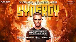 Party Flyer SYNERGY at Alte Kaserne Zurich 28 Apr '18, 22:00