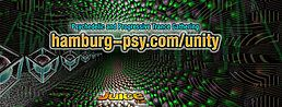 Party Flyer hamburg-psy.com/unity 30 Apr '18, 23:00