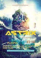 Party Flyer Plasma X Astrix X THW 4 May '18, 23:00