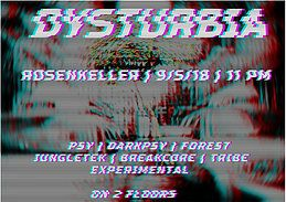 Party Flyer Dysturbia 9 May '18, 23:00