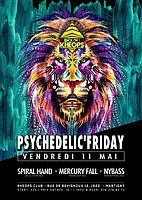 Party Flyer Psychedelic'friday // Edition III 11 May '18, 22:00