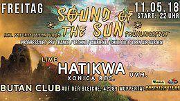 Party Flyer Sound of the Sun / Frühlingsfest 2018 & Freunde Feiern Floor 11 May '18, 22:00