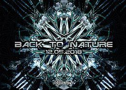 Party Flyer Back To Nature (Free Party) 12 May '18, 23:00