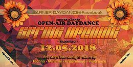 Party Flyer Berner Open-Air-DAYDANCE (&Indoor) 12 May '18, 14:00