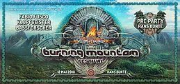 Party Flyer Burning Mountain Pre-Party 12 May '18, 22:00