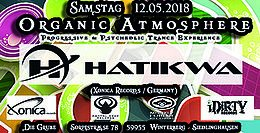 Party Flyer Organic Atmosphere - HATIKWA 12 May '18, 22:00