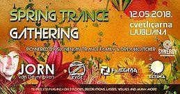 Party Flyer Spring Trance Gathering /// Jorn van Deynhoven / Zyce / Flegma 12 May '18, 23:00