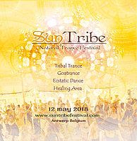Party Flyer Suntribe Festival 2018 ~ Natural Trance 12 May '18, 09:30