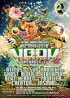Party Flyer VOOV Indoor Zurich - Atmos, Sun Project, Ghost Rider uvm 12 May '18, 23:00