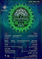 Party Flyer 7 Chakras Festival 2018 Warm Up in Munich w / F1 18 May '18, 22:00
