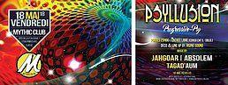 Party Flyer Psyllusion 18 May '18, 23:00