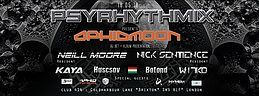 Party Flyer Psyrhythmix presents: Aphid Moon and Ozorian guests 18 May '18, 23:00