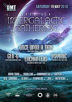 Party Flyer Divine Magic Theory: Intergalactic Gathering 19 May '18, 20:00