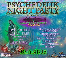 Party Flyer Psychedelik Night Party 19 May '18, 23:30
