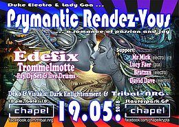 Party Flyer PSYmantic Rendez- Vous 19 May '18, 22:00