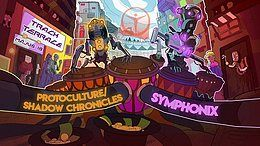 Party Flyer Symphonix | Protoculture - Shadow Chronicles 19 May '18, 22:00