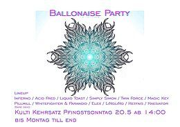 Party Flyer Verein Zuercher 20 May '18, 14:00