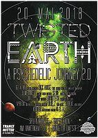 Party Flyer Twisted Earth 2.0 - A psychedelic journey 20 May '18, 21:00