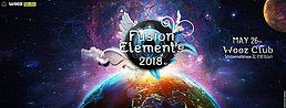 Party Flyer Fusion Elements 2018 w/ Outsiders, Shibass, Dapanji, amm 26 May '18, 22:00