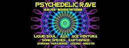 Party Flyer Psychedelic Rave 26. Mai. 18, 23:00