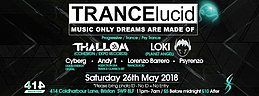 Party Flyer TRANCElucid 26 May '18, 23:00