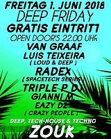 Party Flyer DEEP FRIDAY 1 Jun '18, 22:00