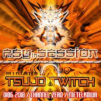 Party Flyer PSYiNSESSION / Allnighter w. Tsujo Twitch 1 Jun '18, 23:00