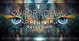 Party Flyer Quadradelic Open Air Gathering 2018 1 Jun '18, 21:00