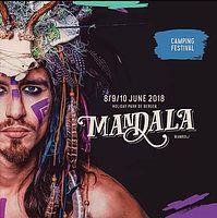 Party Flyer All Muzing Traïbe @ Mandala festival 2018 8 Jun '18, 14:00