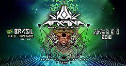 Party Flyer Arkana Festival 2018 8 Jun '18, 14:00