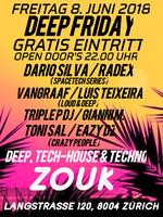 Party Flyer DEEP FRIDAY 8 Jun '18, 22:00