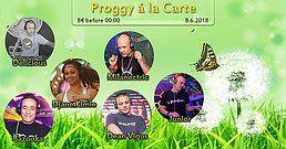 Party Flyer Proggy à la Carte 8 Jun '18, 23:00