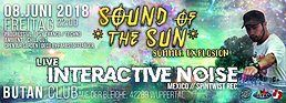 Party Flyer SOUND of the SUN / Summer Xplosion 2018 / Interactive Noise Live 8 Jun '18, 22:00