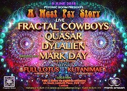 Party Flyer A WEST PSY STORY! 9 Jun '18, 22:00