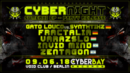 Party Flyer CyberBay - Night 9 Jun '18, 23:00