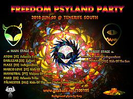 Party Flyer Freedom PsyLand Party 9 Jun '18, 18:00