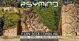 Party Flyer Psymind Origins 2018 9 Jun '18, 14:00