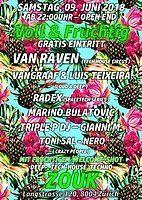 Party Flyer VOLL & FRUCHTIG 9 Jun '18, 22:00