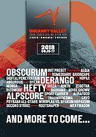 Party Flyer Uncanny Valley festival 2018 14 Jun '18, 18:00