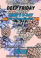 Party Flyer DEEP FRIDAY 15 Jun '18, 22:00