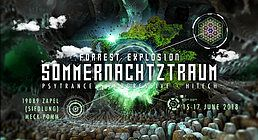 Party Flyer ForRest-Explosion Sommernachtztraum Festival 2018 15 Jun '18, 18:00