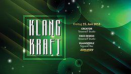 Party Flyer Klangkraft 15 Jun '18, 23:00
