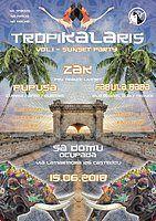TropiKALAris *** vol.1 *** Sunset Party 15 Jun '18, 17:00