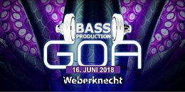 Party Flyer Bassproduction Goa Party 16 Jun '18, 22:00