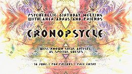 Party Flyer Cronopsycle w/ Aner Adras & Friends 16 Jun '18, 22:00