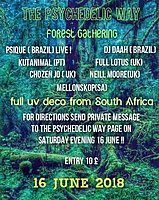 Party Flyer The Psychedelic Way Forest Gathering 16 Jun '18, 23:00