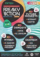 Party Flyer FREAKY FICTION 20 Jun '18, 23:00